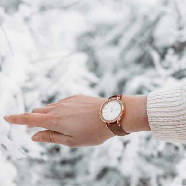 Aarni Aurora - Wooden Watch - Puinen Rannekello - Träklocka