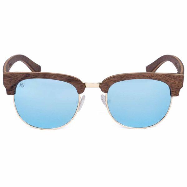 Aarni Master Walnut - Wooden Sunglasses - Puiset Aurinkolasit