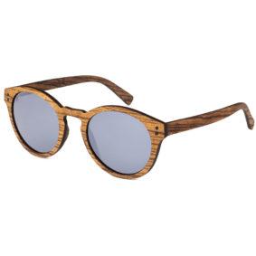 Wynn Zebrawood - Wooden Sunglasses - AARNI - Made of Wood with Carbon Core - Puiset aurinkolasit hiilikuituytimellä