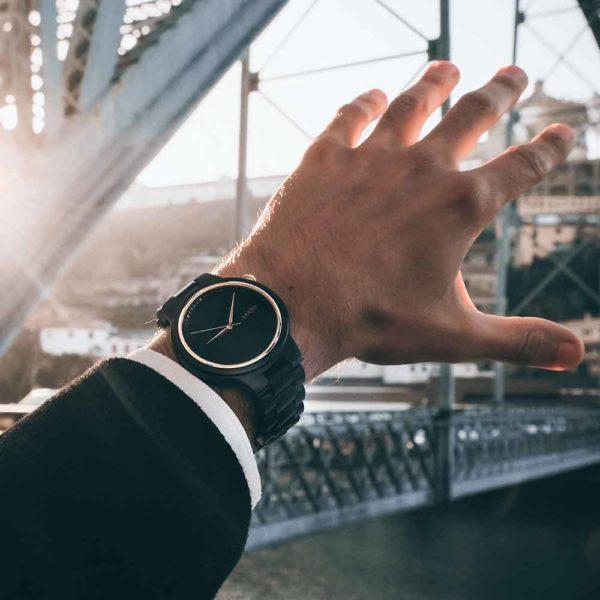 Aarni XO - Wooden Watch - Puinen Rannekello - Träklocka
