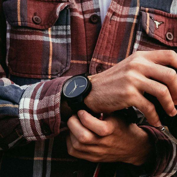 Wooden Watch - Wood Watch - Puinen Rannekello