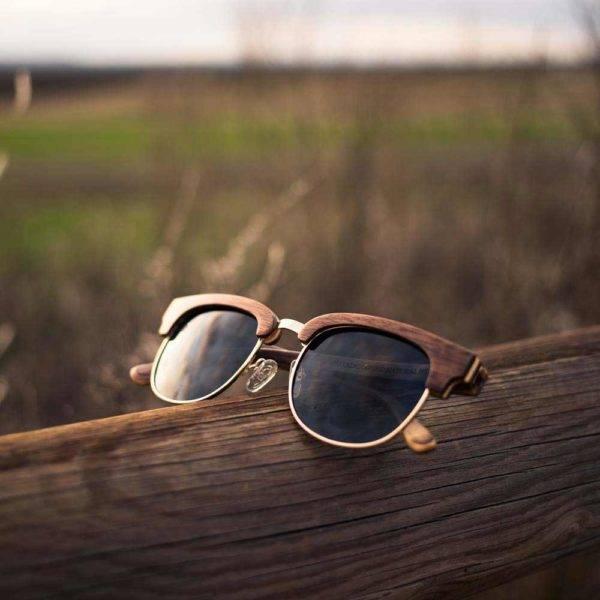 Aarni Wooden Sunglasses - Puiset Aurinkolasit – Elegant Style for the summer