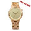 Aarni XO Oak - Wooden Watch - Puinen Rannekello - Träklocka