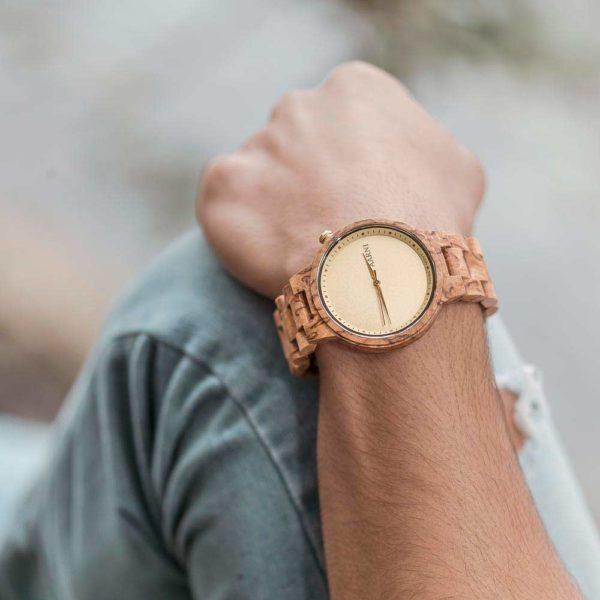 Aarni Wooden Watch - Wood Watch - Puinen Rannekello