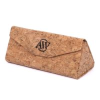 Sunglass case made of cork