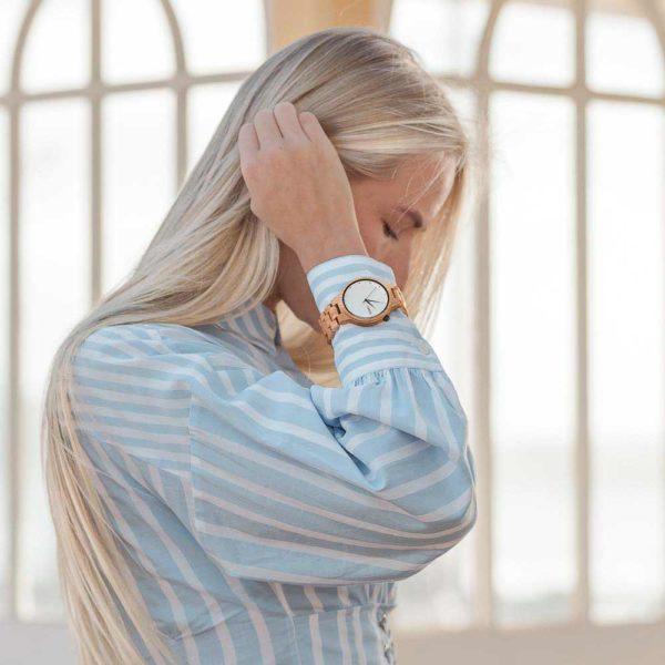 Aarni XO Elm - Wooden Watch - Puinen Rannekello - Träklocka