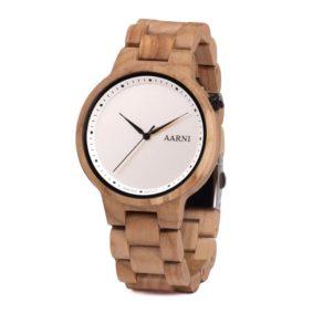 Wooden Watch - Wood Watch - Puinen Rannekello - Aarni XO