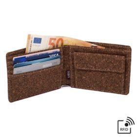 Aarni Cork Wallet - Korkkilompakko - Aidosta korkista RFID suojauksella