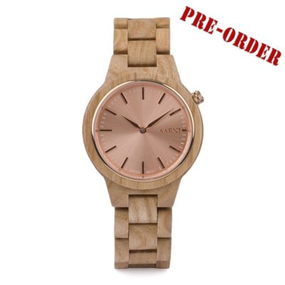 Wooden Watch - Wood Watch - Puinen Rannekello - Aarni Vega