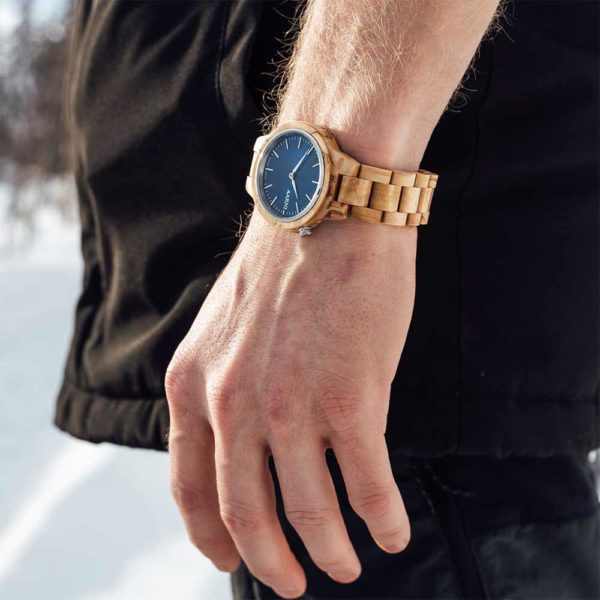 Aarni Wood Watch - Premium Watch with Scandinavian Design