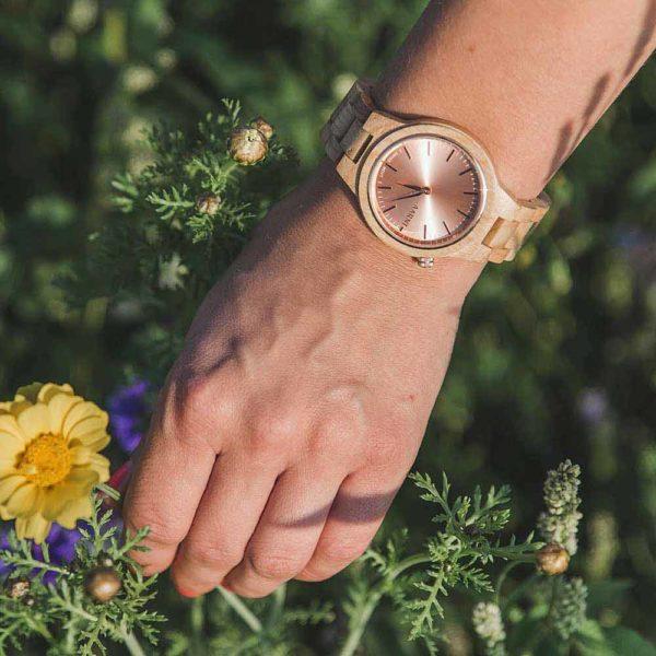 Aarni Vega - Wooden Watch - Puinen Rannekello - Träklocka
