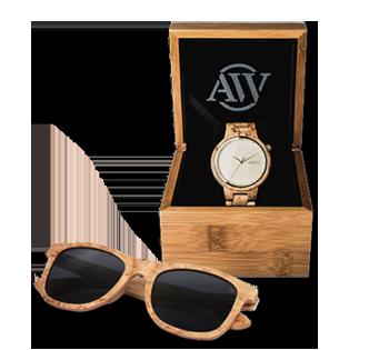 Aarni - Wood Watch - Wood Sunglasses