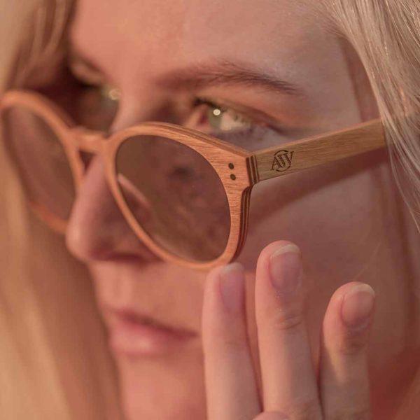 Wooden Sunglasses - Puiset Aurinkolasit – Elegant Style - AARNI
