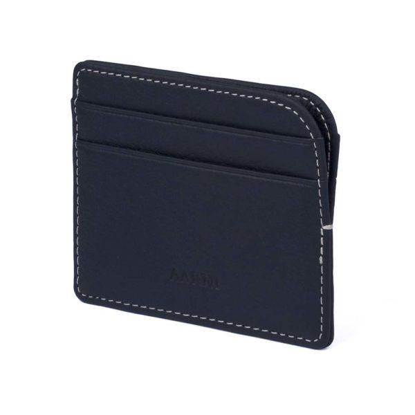 Aarni Elk Leather Card Holder - Hirvennahkainen korttikotelo