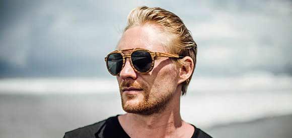 Aarni Wooden sunglasses - Puiset aurinkolasit - Solglasögon av trä