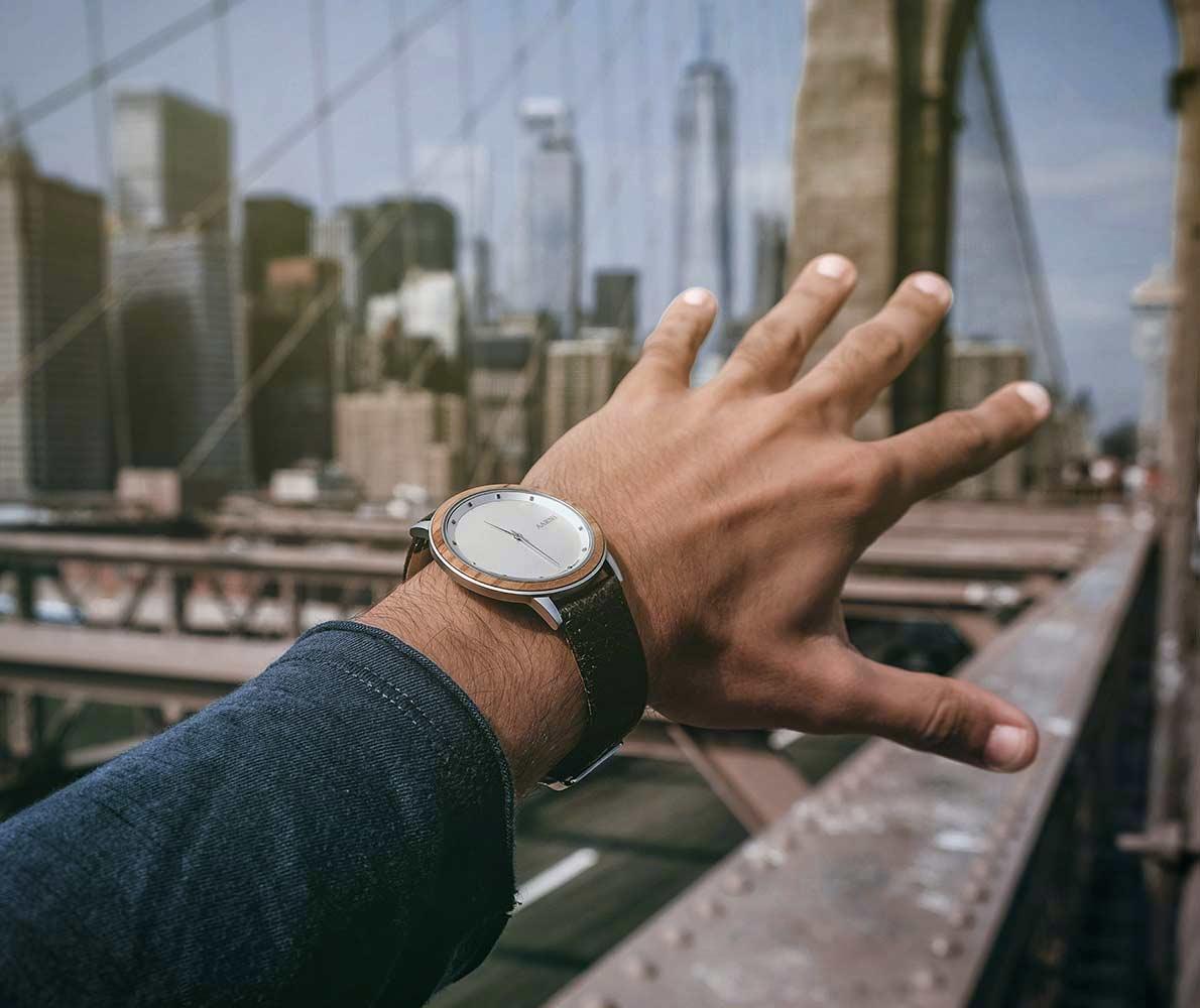 Aarni Wood Watches - Puiset Kellot - Träklockor