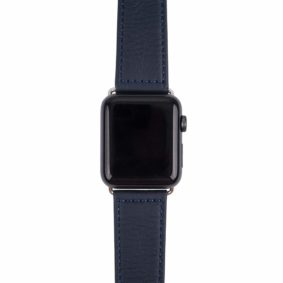 Aarni iWatch band made of elk leather - Hirvennahkainen iWatch ranneke