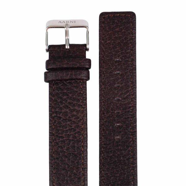 Aarni Elk Leather Watch Band - Hirvennahkainen kellon vaihtoranneke
