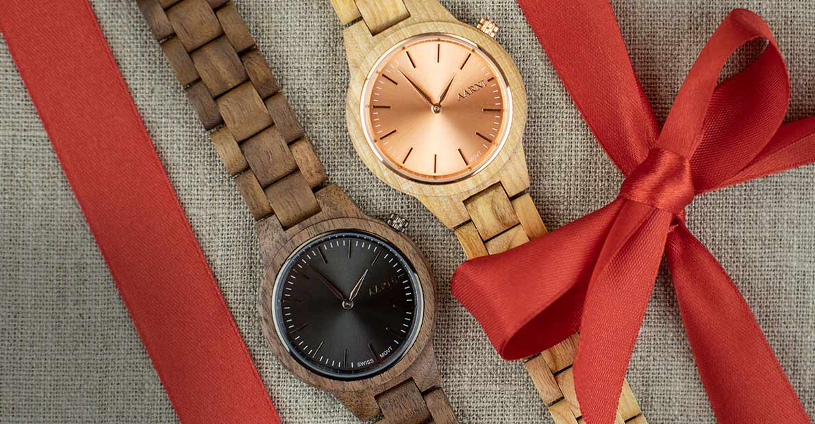 Wood Watches for Christmas - Aarni Puiset Kellot