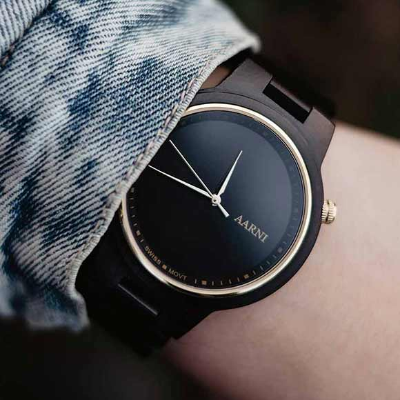 XO Ebony - Elegant Wood Watch