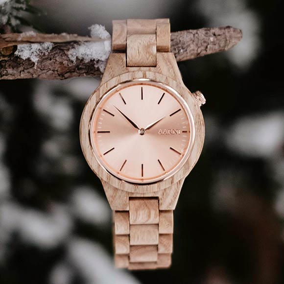 Aarni Vega Ash - Premium Wood Watch