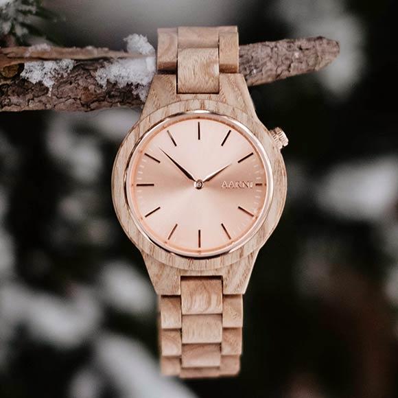 Aarni Vega Ash - Premium Wood Watch