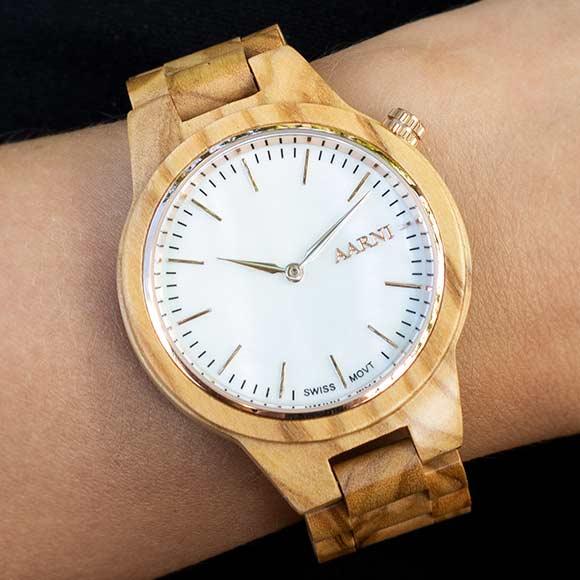 Vega Olive Watch
