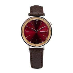 Aarni Aurora - Wooden Watch for women- Puinen Rannekello Naisille - Träklocka