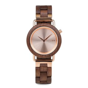 Aarni Saga - Elegant Wood Watch for Women - Upea puinen kello naisille
