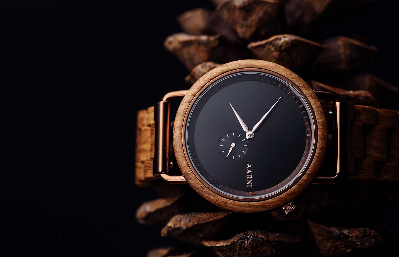 Aarni Watches - Elegant Wood Watches - Puiset kellot