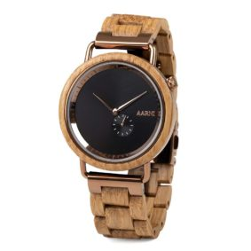 Aarni Sirius - Elegant Wood Watch for Men - Upea puinen kello miehille
