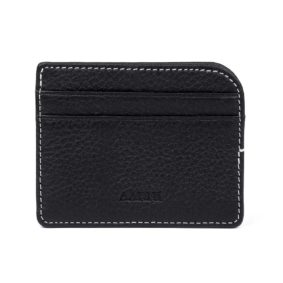 Elk Leather Card Holder - Compact size and superior full grain elk leather - Hirvennahkainen korttikotelo - Aarni