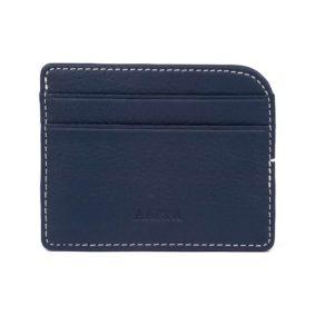 Elk Leather Card Holder - Compact size and superior full grain elk leather - Hirvennahkainen korttikotelo - Aarni
