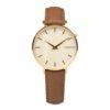 Aarni Taiga Watch - Elk Leather Band - Elegant watch made of natural materials - Taiga rannekello naisille - Valmistettu aidoista materiaaleista.
