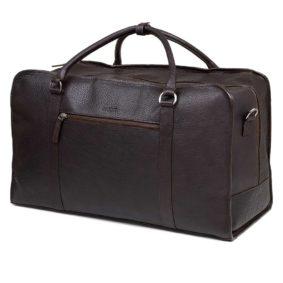 Weekend Bag - Viikonloppulaukku - Yak Leather - Upea jakinnahasta valmistettu laukku miehille ja naisille