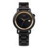 Aarni Atlas - Ebony Automatic Watch - Eebenpuusta valmistettu kello automaattikoneistolla